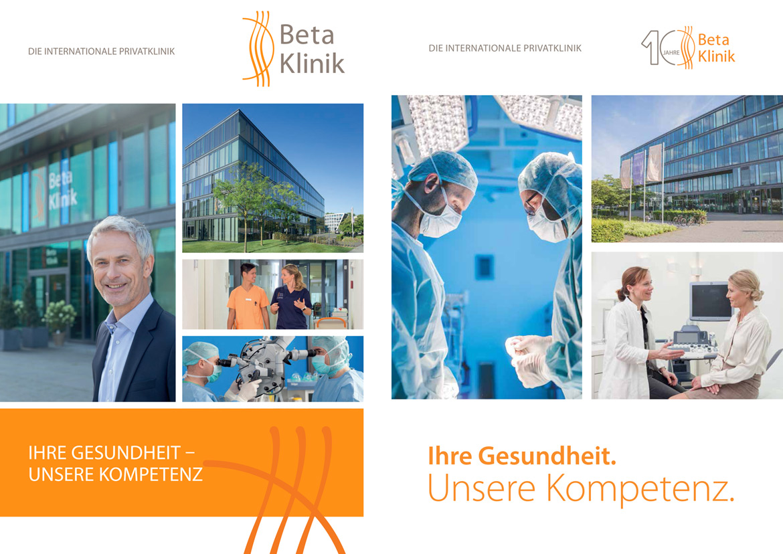 00a betaklinik bonn imagebroschuere - Unterwegs in der Beta Klinik