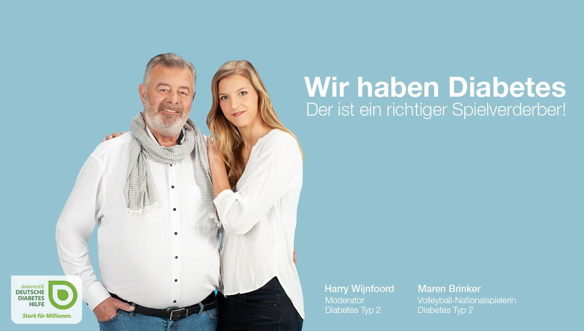 01 fotokampagne diabetes harry wijnfoord maren brinker testimonials 1 - Diabetes-Kampagne