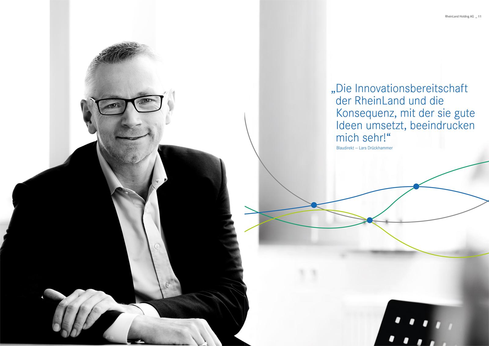 01 rheinland holding ag versicherung geschaeftsbericht 2019 - Geschäftsbericht der RheinLand Holding AG