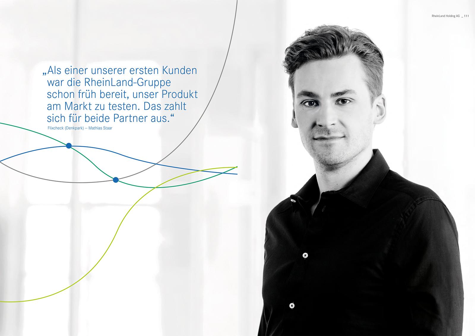 02 rheinland holding ag versicherung geschaeftsbericht 2019 - Geschäftsbericht der RheinLand Holding AG