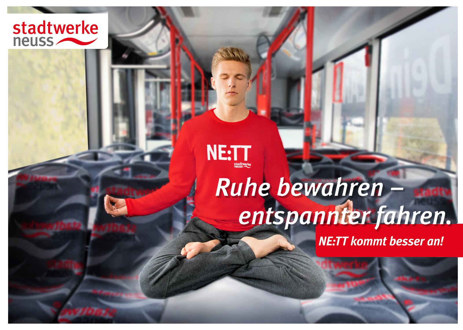 04 SWNE Kampagne Stadtwerke Neuss Werbung 1 - Werbefotograf im Nahverkehr